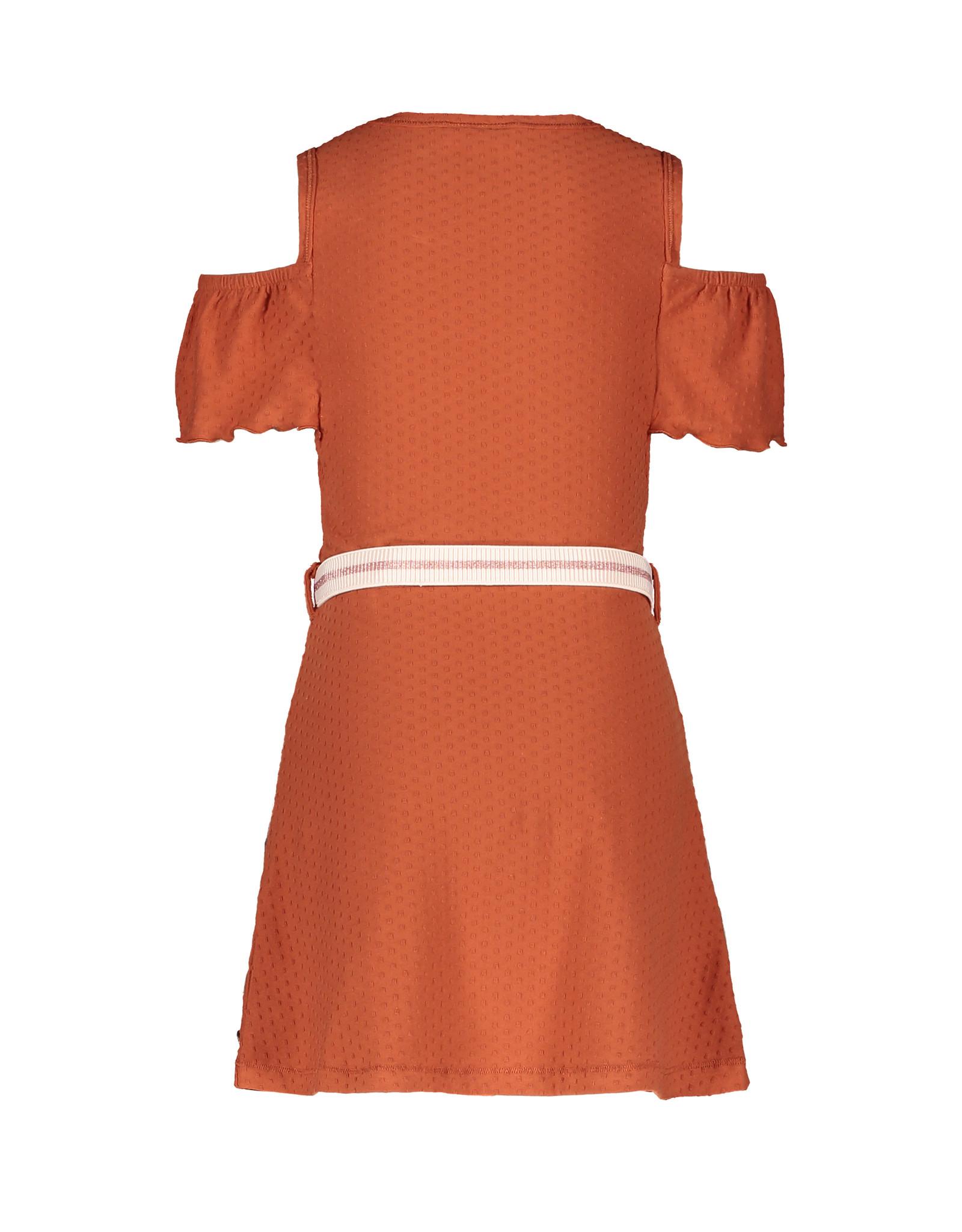 Like Flo Flo girls fancy jersey open shoulder dress