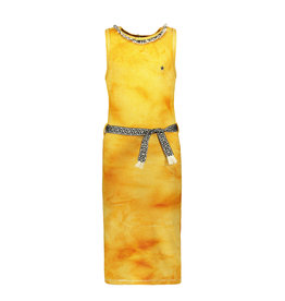 Like Flo Flo girls waffle bleach maxi singlet dress