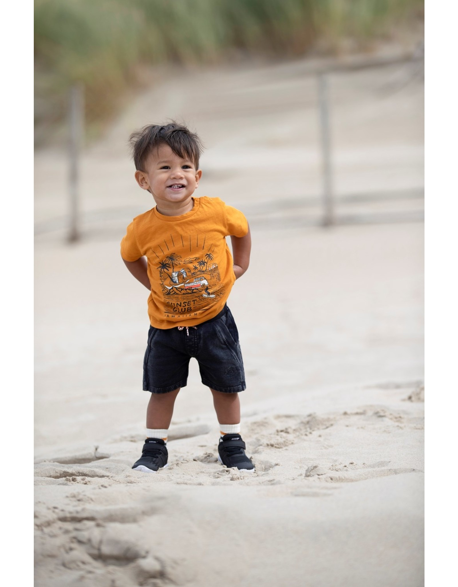 Feetje T-shirt Sunset Club - Happy Camper