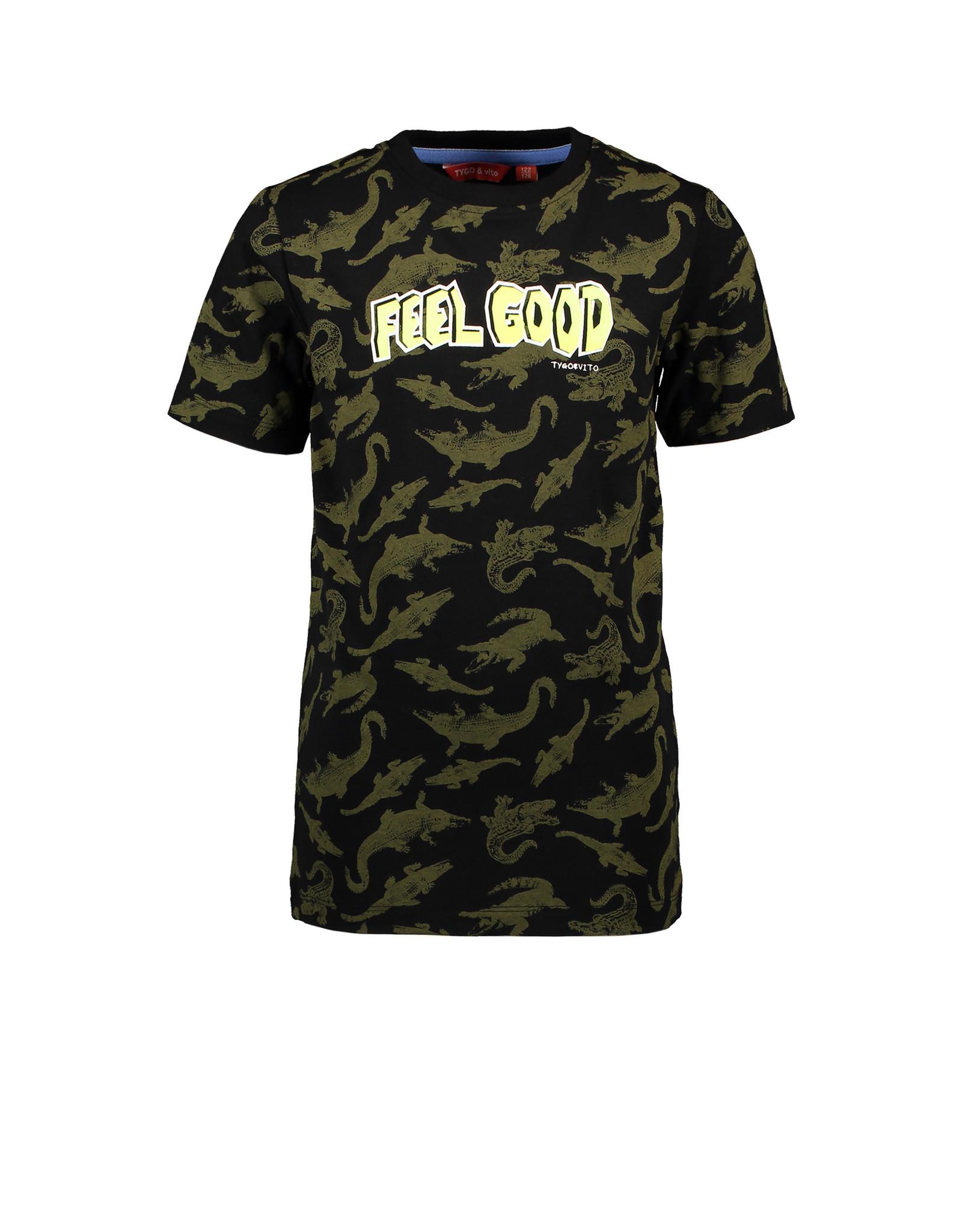 Tygo & Vito T&v T-shirt AO CRODODILE