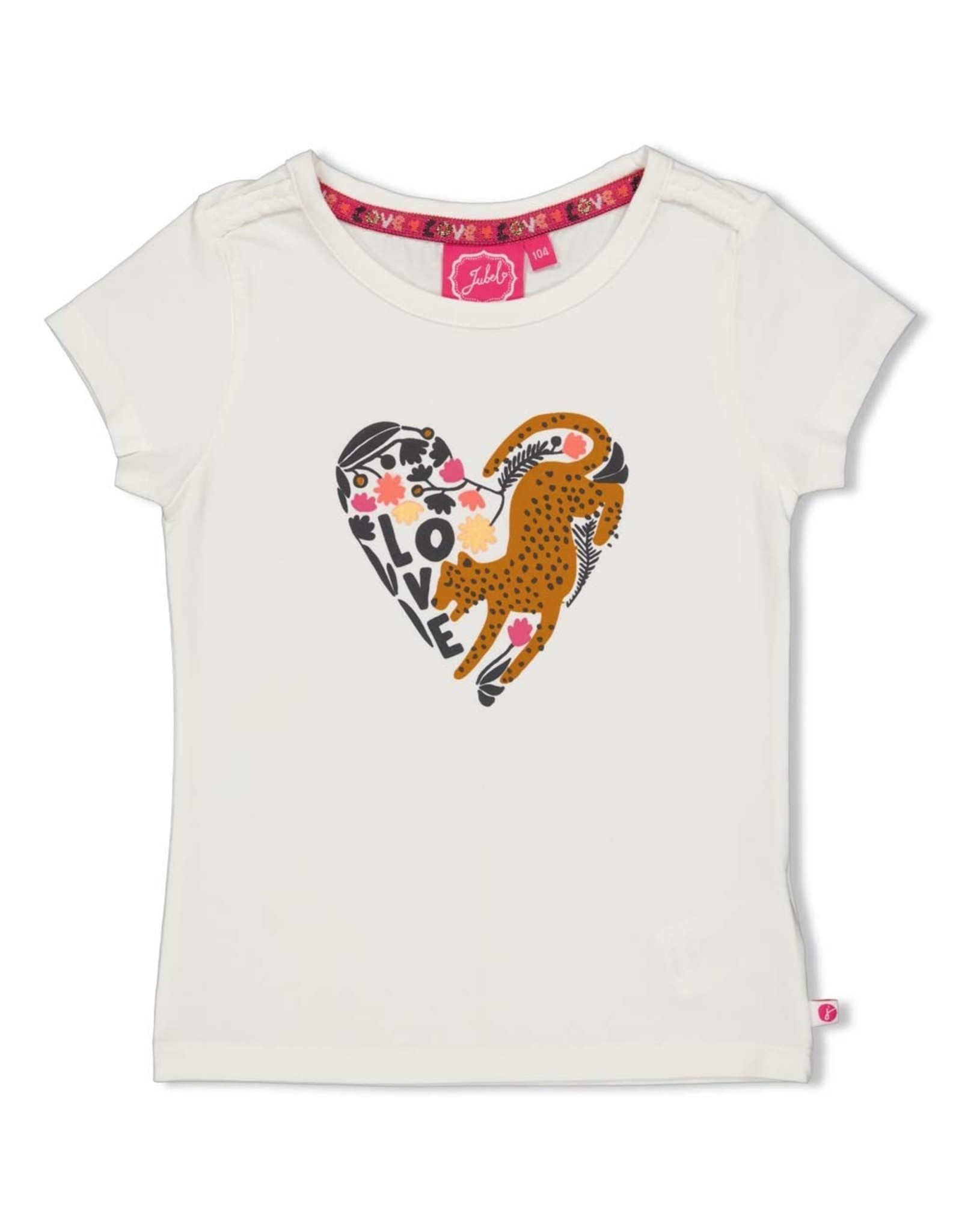 Jubel T-shirt offwhite  - Whoopsie Daisy