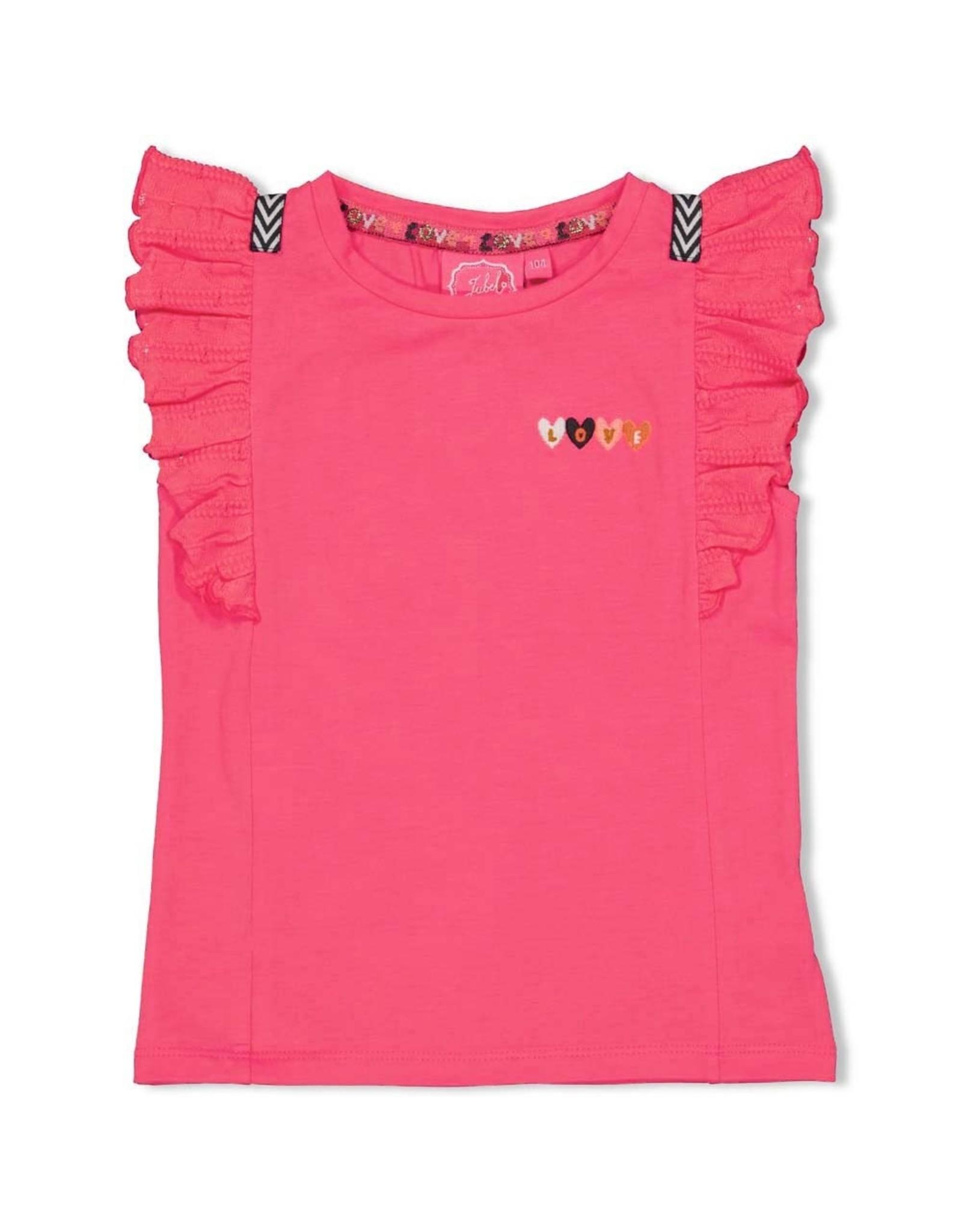 Jubel T-shirt fuchsia - Whoopsie Daisy