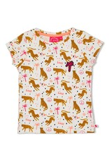 Jubel T-shirt AOP offwhite - Whoopsie Daisy