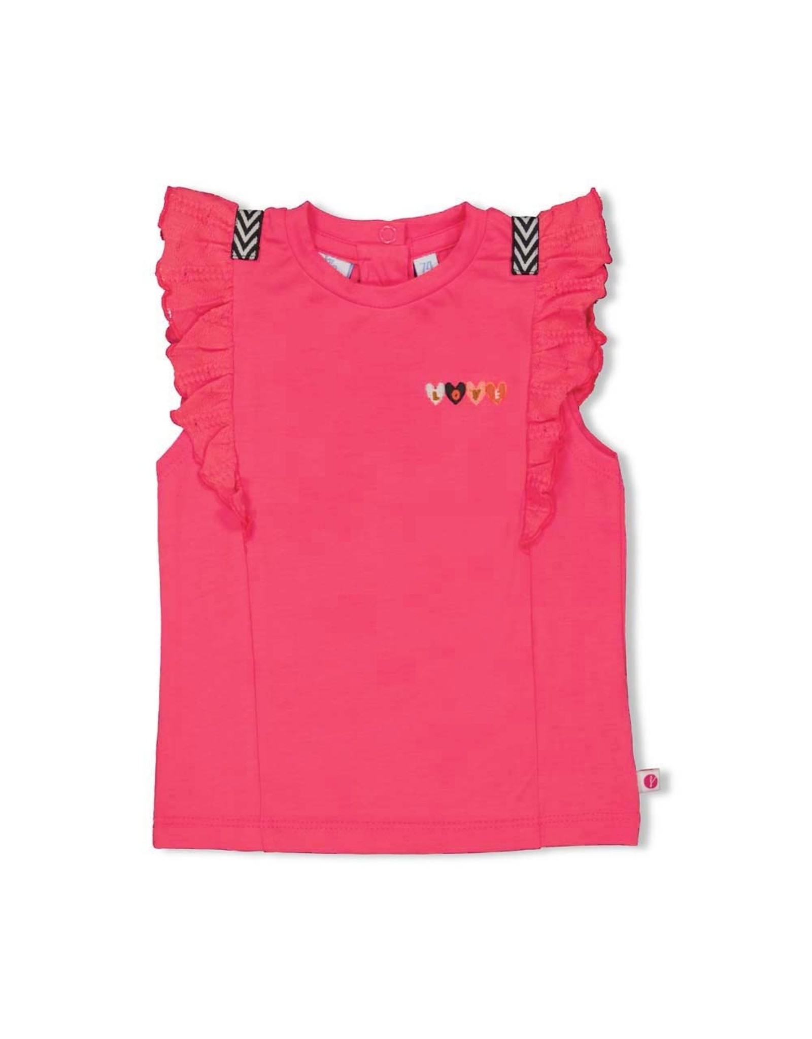 Feetje T-shirt rusches - Whoopsie Daisy