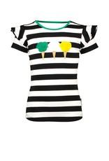 B.Nosy Girls shirt with icecream artwork