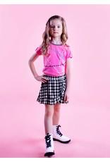 B.Nosy Girls shirt with folded sleeve