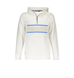 Bellaire Kes hooded sweater half zipper