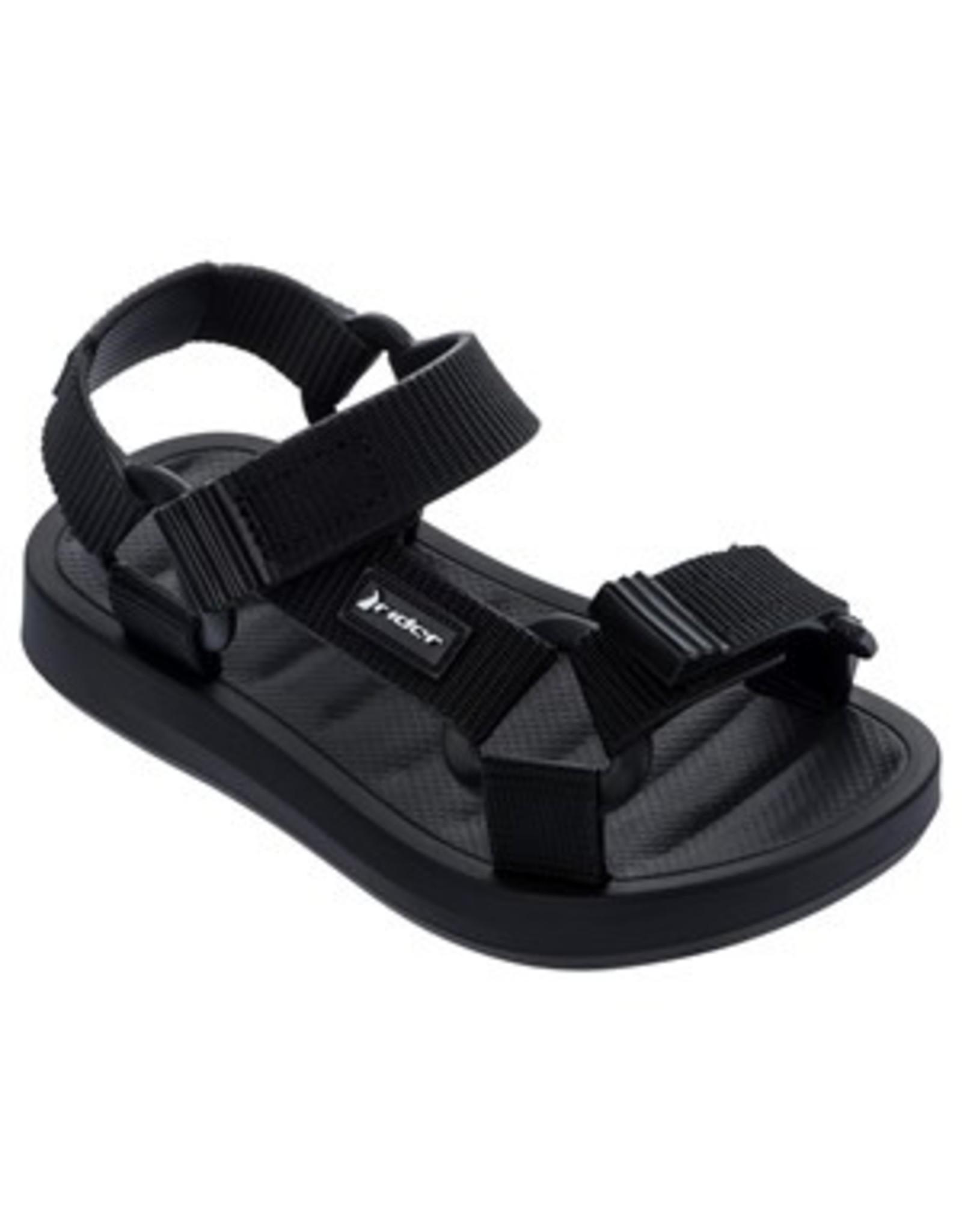 Rider Slippers zwart