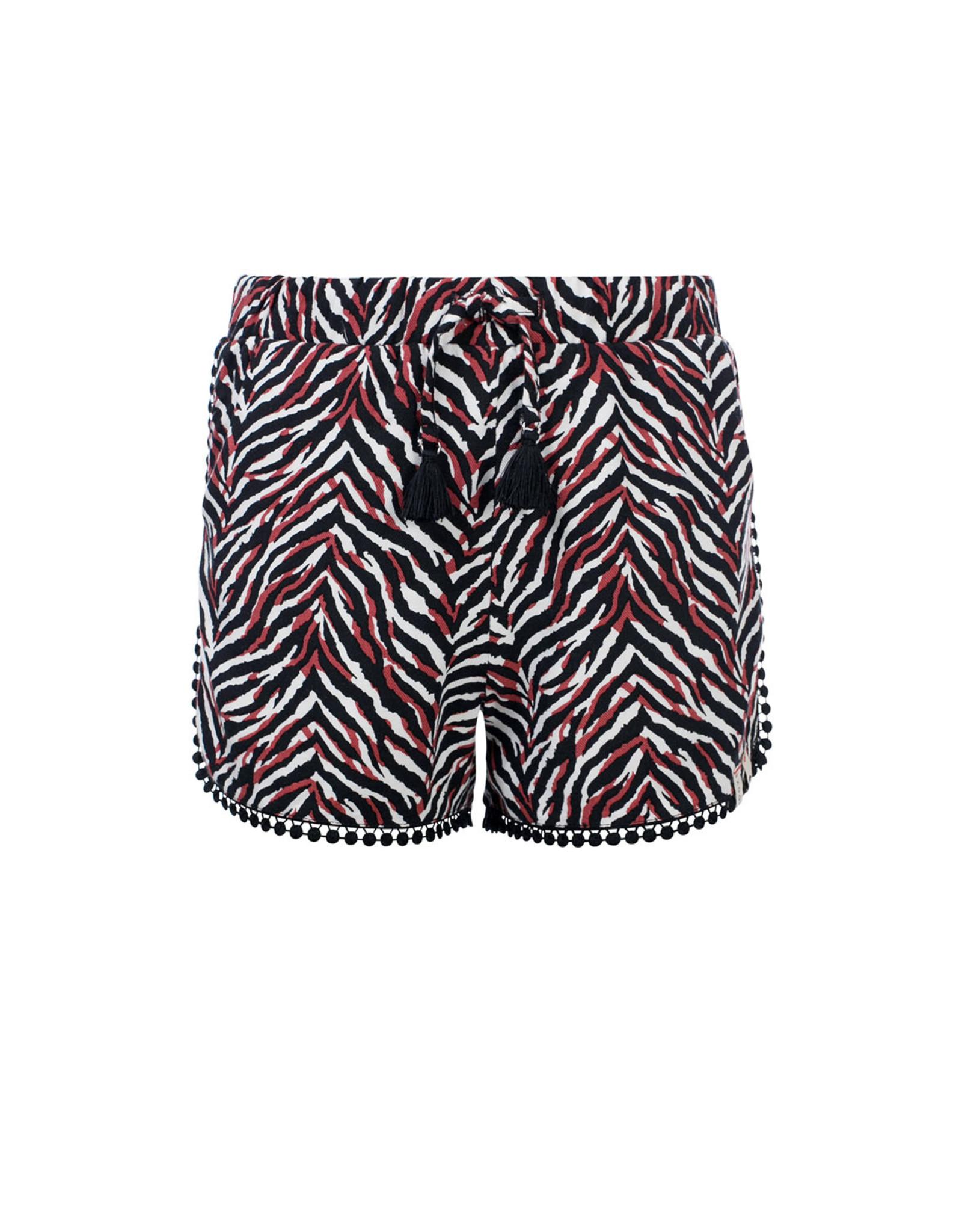 Looxs 10SIXTEEN 10Sixteen Woven printed shorts zebra