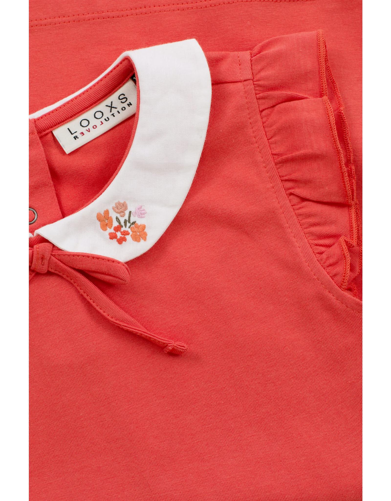 Looxs Little Little t-shirt coral