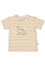Feetje T-shirt streep - Dinomite