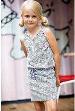 B.Nosy Girls dress with belt and embro