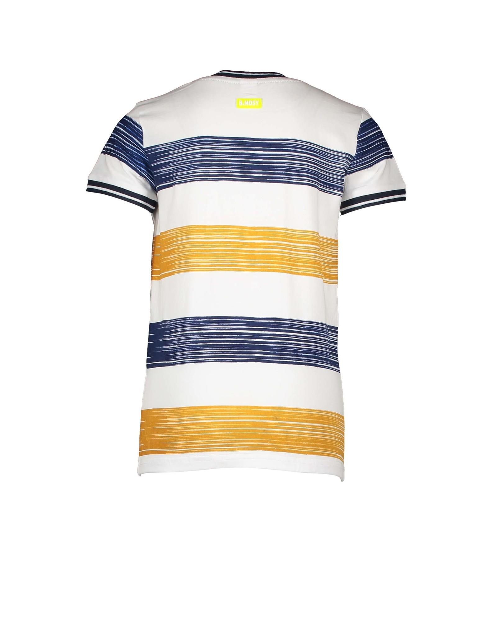 B.Nosy Boys ss shirt with printed stripe