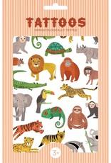 Petit Monkey Tattoo set jungle