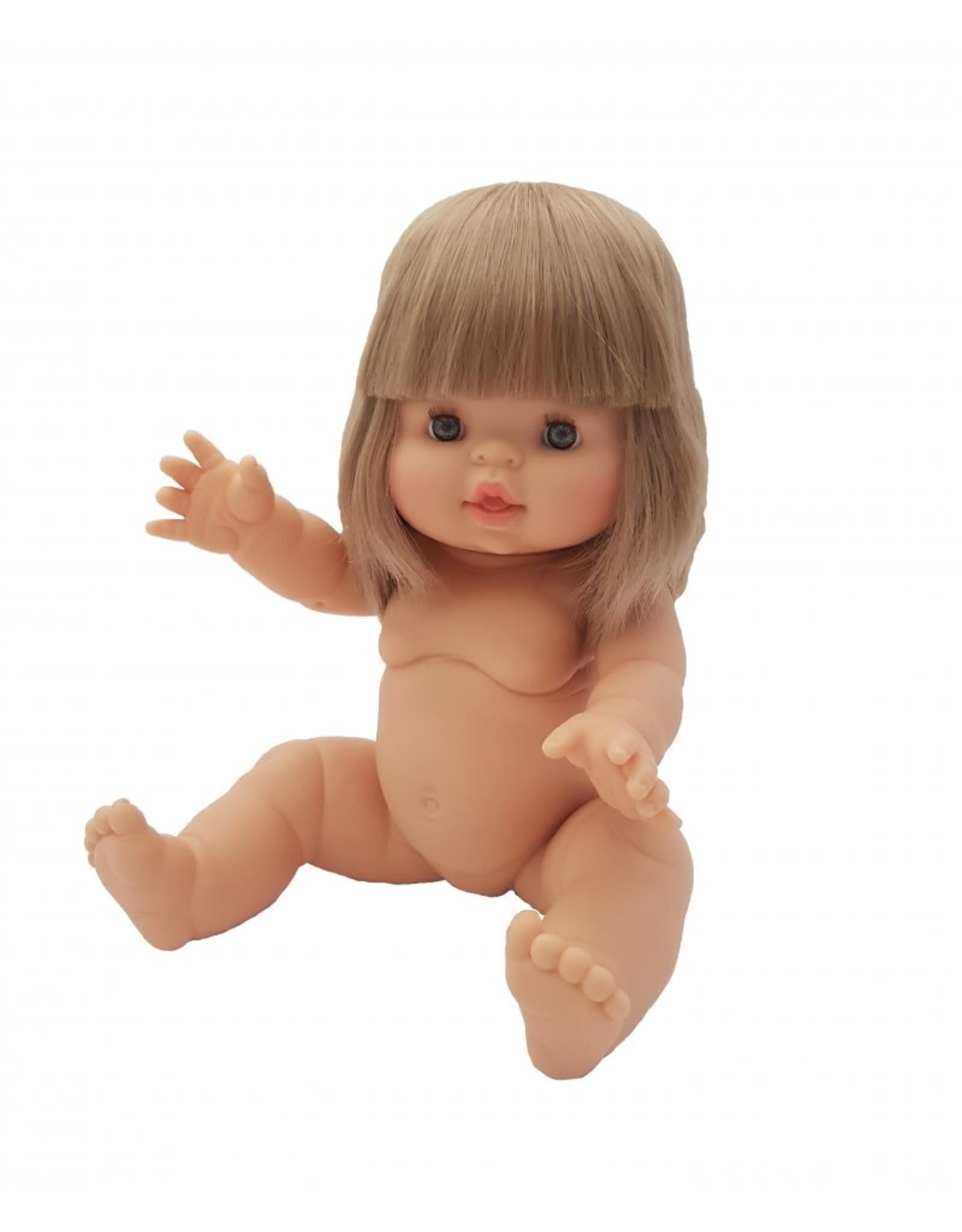 Paola Reina Pop Gordi meisje blank blond haar met blauwe ogen