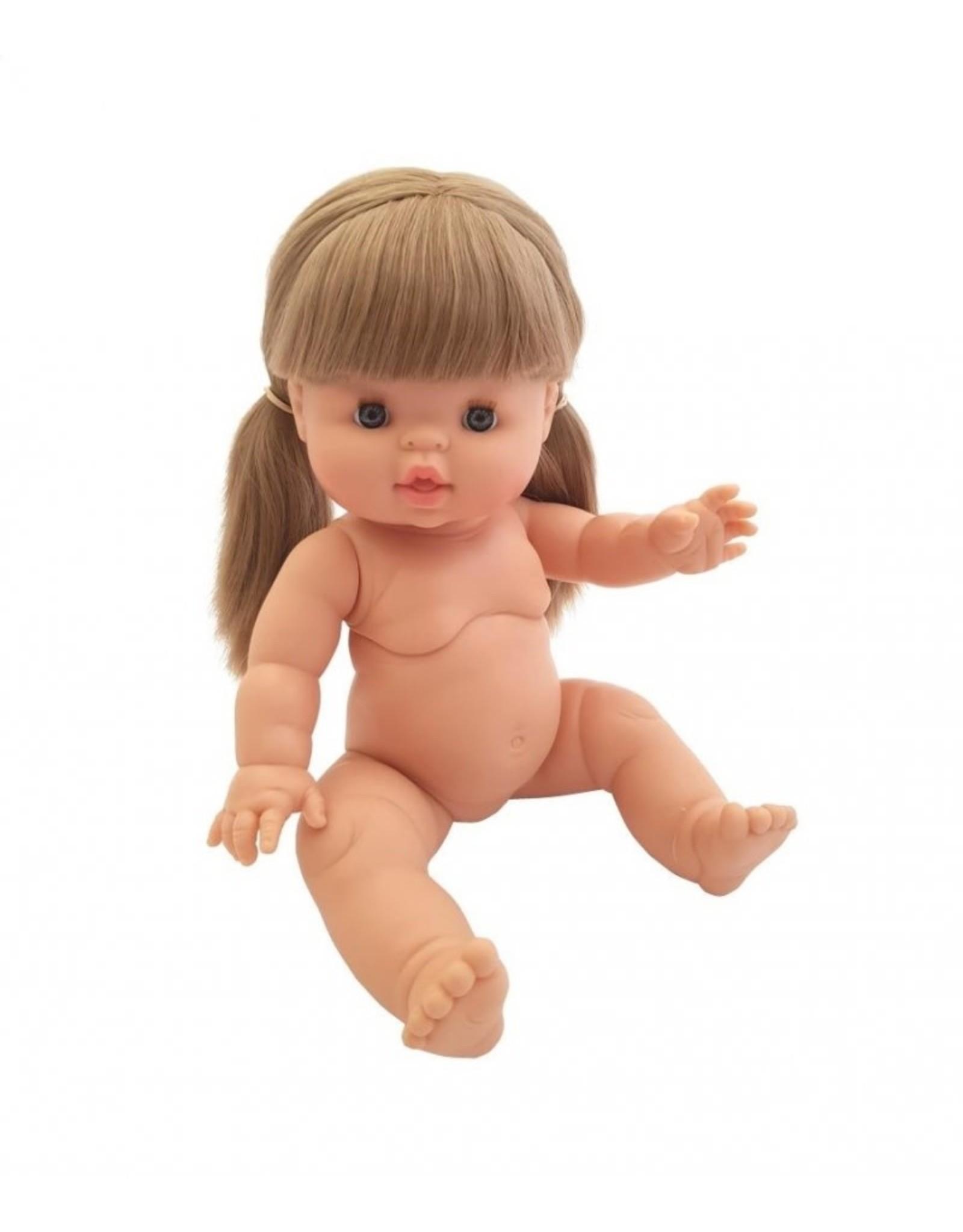 Paola Reina Pop Gordi meisje met blond haar/staartjes
