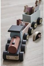 kids concept Speeltrein met diertjes