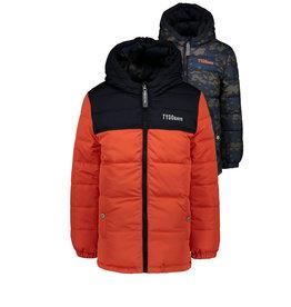 Tygo & Vito T&v reversible jacket orange