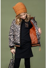 Nono 100% Recycled Polyester hooded bomber jacket Bella
