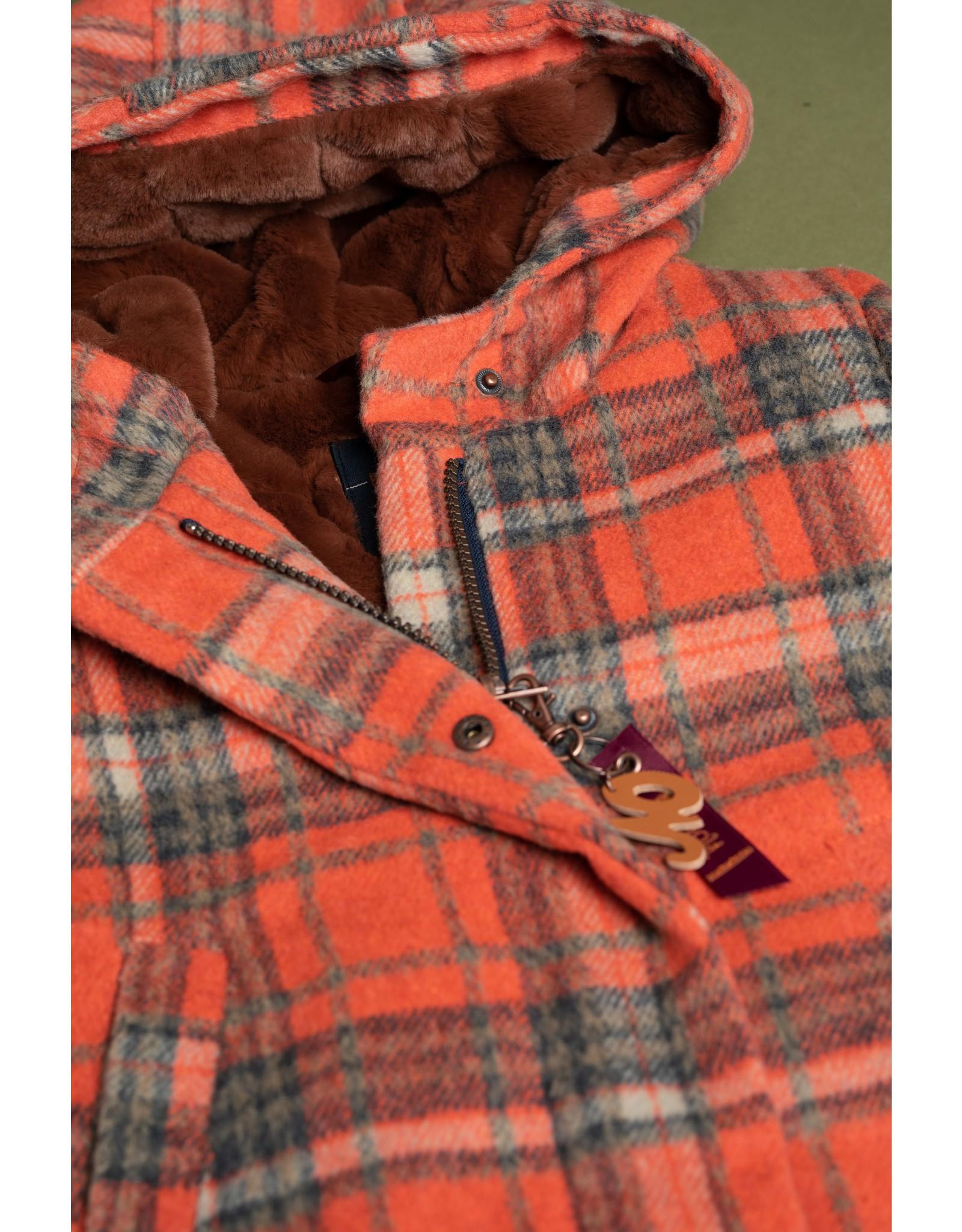 Nono Badras classic wooly hooded jacket