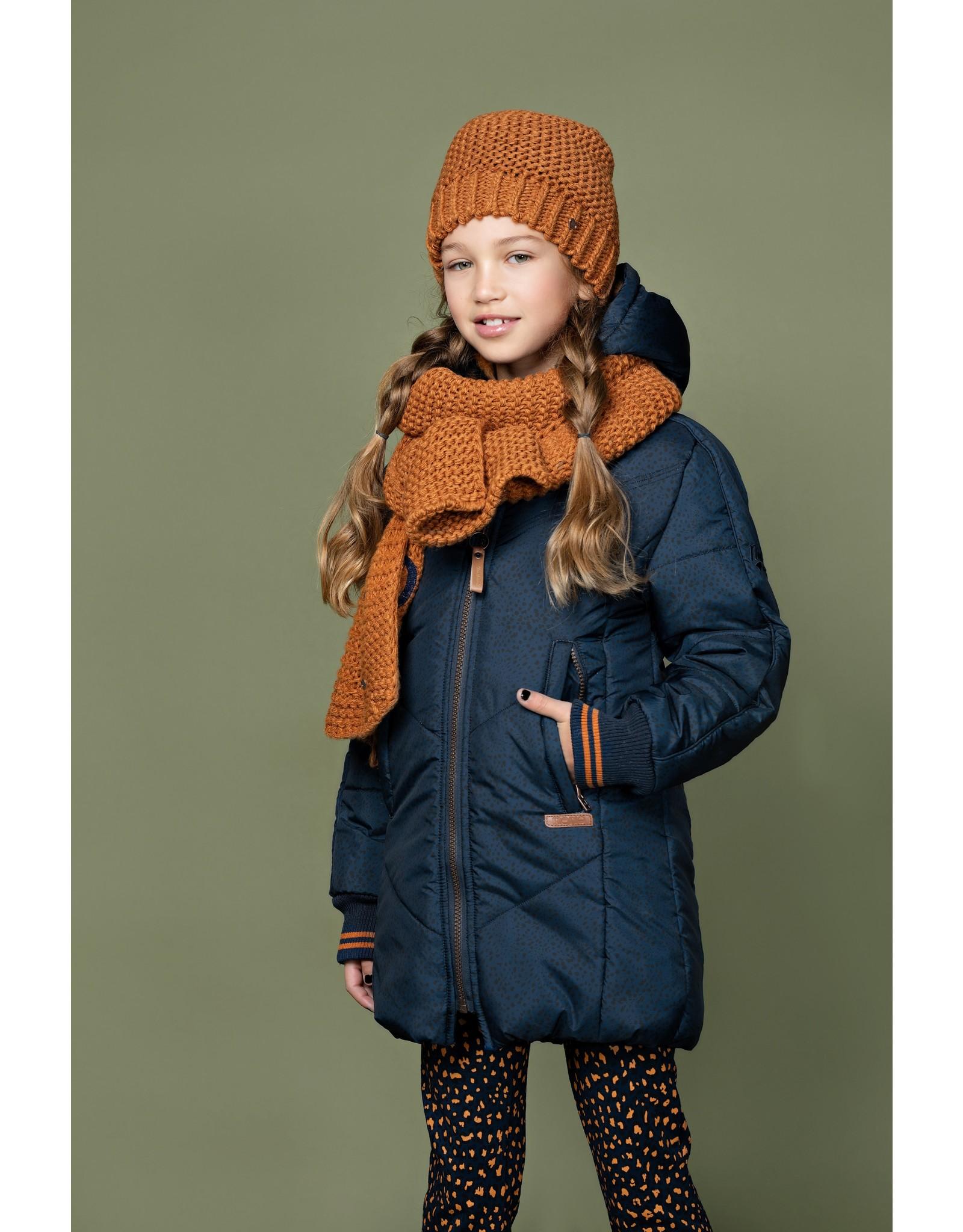 Nono Becky long hooded jacket