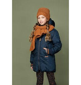 Nono Rai knitted scarf and hat set