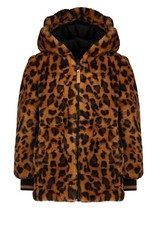Nono Bay mid long reversible hooded A-line jacket