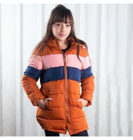 B.Nosy Girls long jacket with contrast chest parts