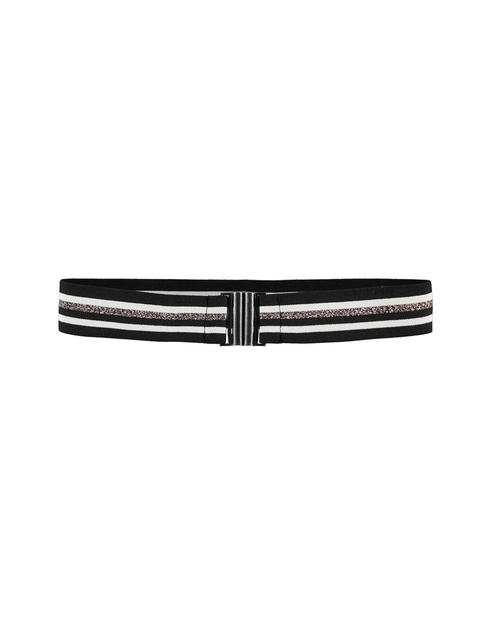 Looxs 10SIXTEEN 10Sixteen lurex stripe belt