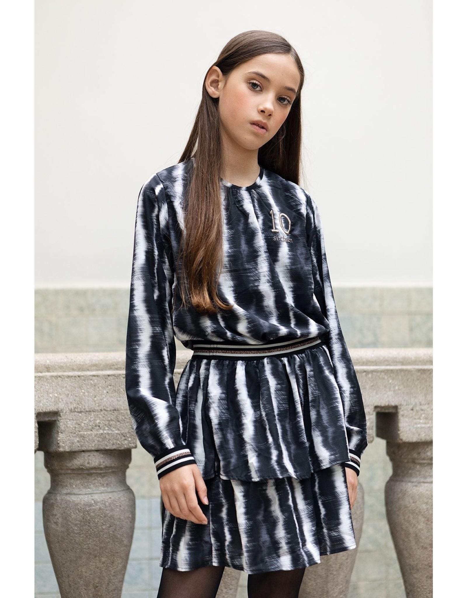 Looxs 10SIXTEEN 10Sixteen chiffon dress1