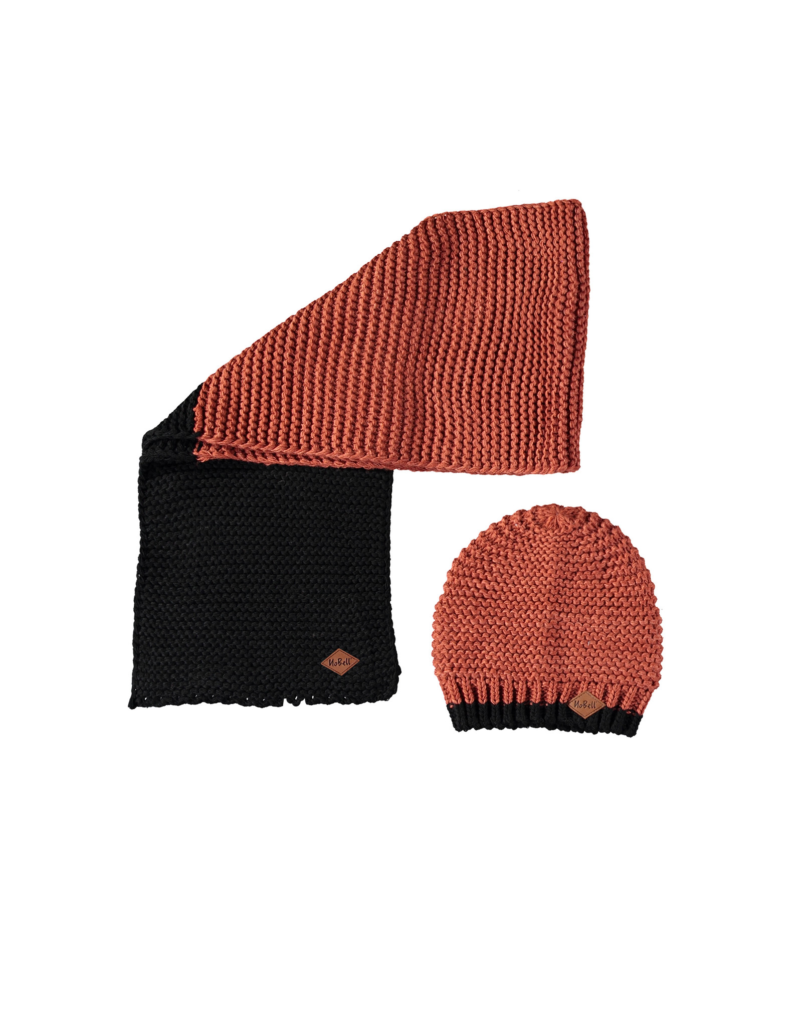 Nobell Rai knitted set: scarf and hat