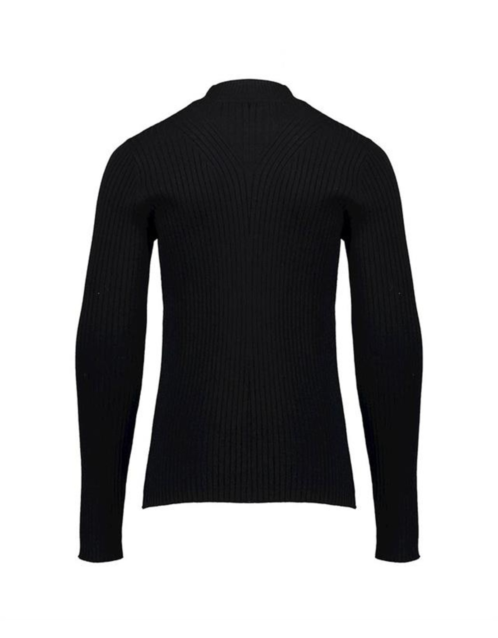 Geisha Knitted top l/s turtle
