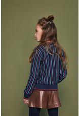 Nono Sadine B short with skirt outlook in shiny suedine