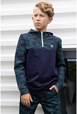 Bellaire Fancy hooded sweat with camo AOP