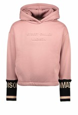 Street Called Madison Luna hooded sweater fancy ribbing YES SIR