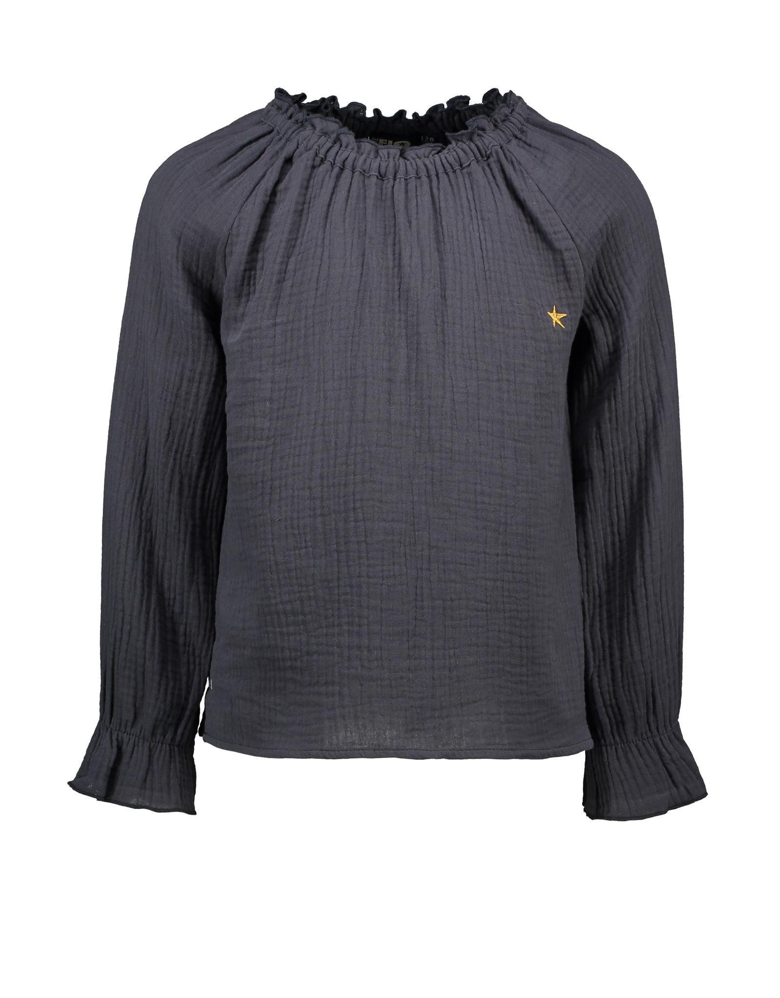 Like Flo Flo girls fancy double fabric blouse a