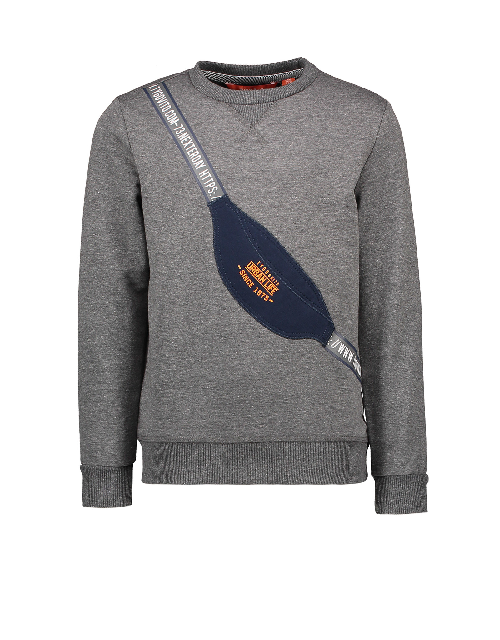 Tygo & Vito T&v sweater patched bag