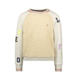 Like Flo Flo girls teddy sweater