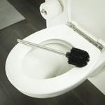 Relaxwonen Universele RVS Toiletborstel Set - 2 Stuks