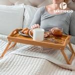 Relaxwonen Bamboe Dienblad op Pootjes