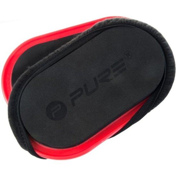 Pure2improve Pure2improve Slide Pads Rood 2 Stuks