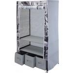 Relaxwonen Storage solutions Opvouwbare Kledingkast - garderobekast - 88x50x160 cm