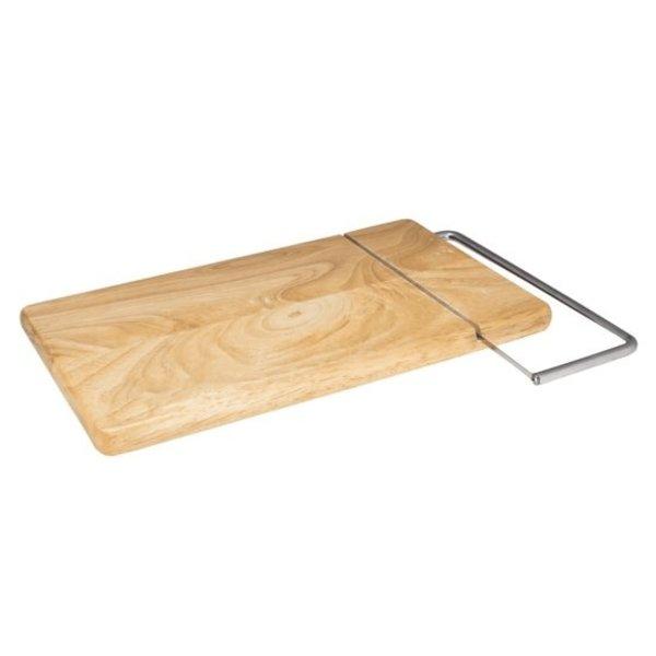Relaxwonen Kaasplank met ingebouwd kaassnijder - Uniek - Stevige kwaliteit hout