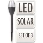 Relaxwonen Relaxwonen - Solarverlichting - Buitenverlichting - Priklamp - Tuinverlichting - 3 stuks