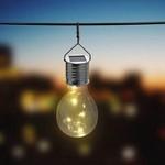 Relaxwonen RelaxWonen Solar Tuinverlichting - Feestverlichting - Retro Gloeilamp - LED - Warm Wit