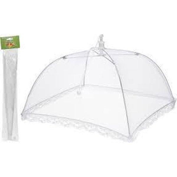 Relaxwonen Vliegenkapje - 30 x 30 cm -barbeque - buiten eten vliegenbescherming