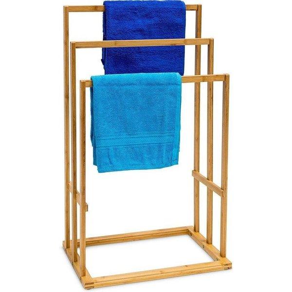 Relaxwonen basic Handdoekenrek Bamboo (3hoogtes)