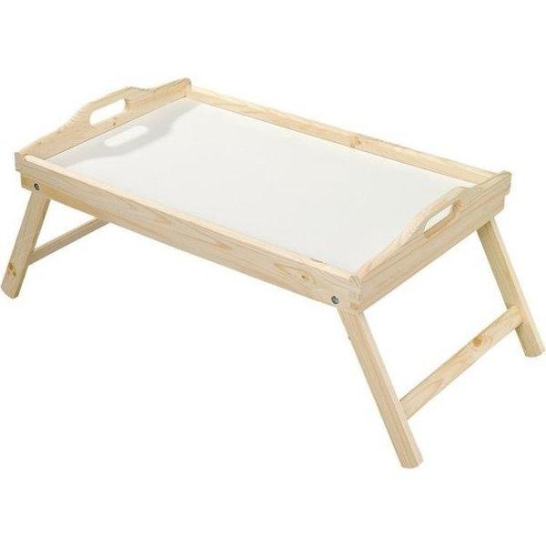 Relaxwonen Ontbijt op bed dienblad bamboe 50 x 30 cm