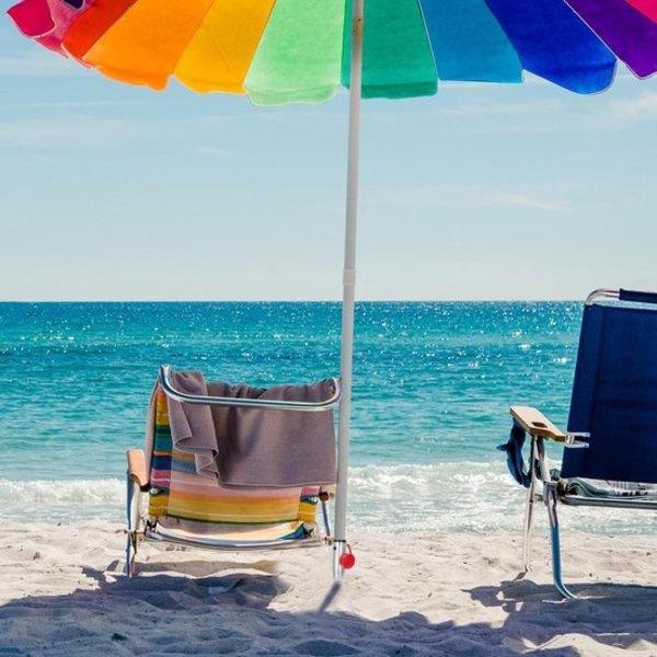 Relaxwonen Metalen Parasolhouder voor Parasol van 25 Tot 55 cm met 5 verschillende | Houder voor in de Grond | Parasolstandaard met Grondboor | Parasolvoet voor in de Tuin | Tuin Artikelen | Schaduw in de Tuin