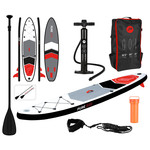 Pure2improve Pure2improve Sup  320cm versie | Opblaasbare Stand up Paddle Board (SUP-board) | Stevige kwaliteit | 150KG
